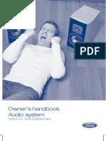 Manual Radio CD Ford 6000CD