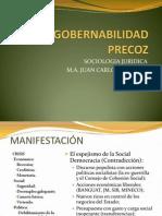 trabajo de socio de la Ingobernabilidad.pptx