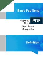 Blues Pop Song