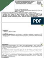 Guía de trabajo Describir los movimientos de rotación y traslación y los relacionan con hechos observables por ellos1