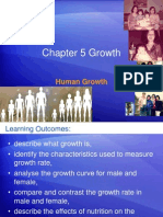 f 3 Chapter 5 Human Growth