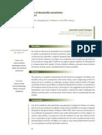 Interpretaciones sobre el desarrollo económico de México en el siglo xx Interpretations on the economic development of Mexico in the 20th century