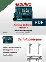 Arduino Eğitimleri - 7 - Arduino Ile Seri İletişim