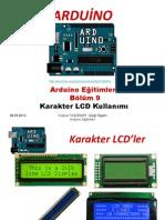 Arduino Eğitimleri - 9 - Arduino Ile Karakter LCD Kullanımı