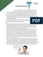obamacare fact sheet