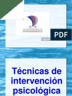 Técnicas de Intervención Psicológica