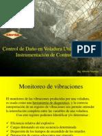 Control de Daño en Voladura Utilizando Instrumentación de Control
