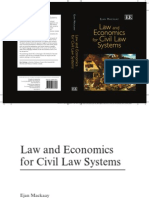 Mackaay_Law and Economics in Civil Law Countries (Introduction)