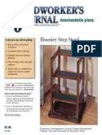 WJ140 Hoosier Step Stool