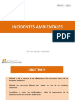 INCIDENTES AMBIENTALES