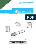 Sennheiser Ew 100 g2 User Guide