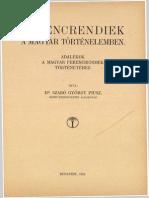 Dr. Szabó György piusz - Ferencrendiek a magyar történelemben
