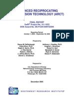 Advanced Reciprocating Compression Technology [SWRI-DOE]