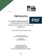 Cil 2012 - Programa 3