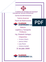 avance tutoria logistica
