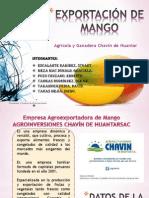 Exportación de Mango