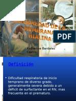 ENFERMEDAD DE MEMBRANA HIALINA y TT