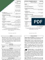 Cedar Bulletin Page - 05-11-14