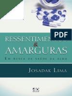 Livro eBook Ressentimentos e Armaguras