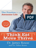 Think Eat Move Thrive - Book Excerpt