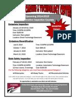 2014-2015 Automotive Inspection Flyer