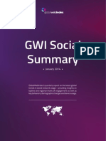 GWI Social January 2014 Summary