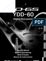 Yamaha Dd65 Es Manual