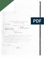 Harding v USOC Complaint