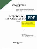 O Metodo Experimental Nas Ciencias Sociais