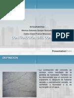 Concreto Armado - COntraccion Del Concreto