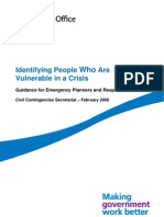 028. Identifying people who are vulnerable in a crisis