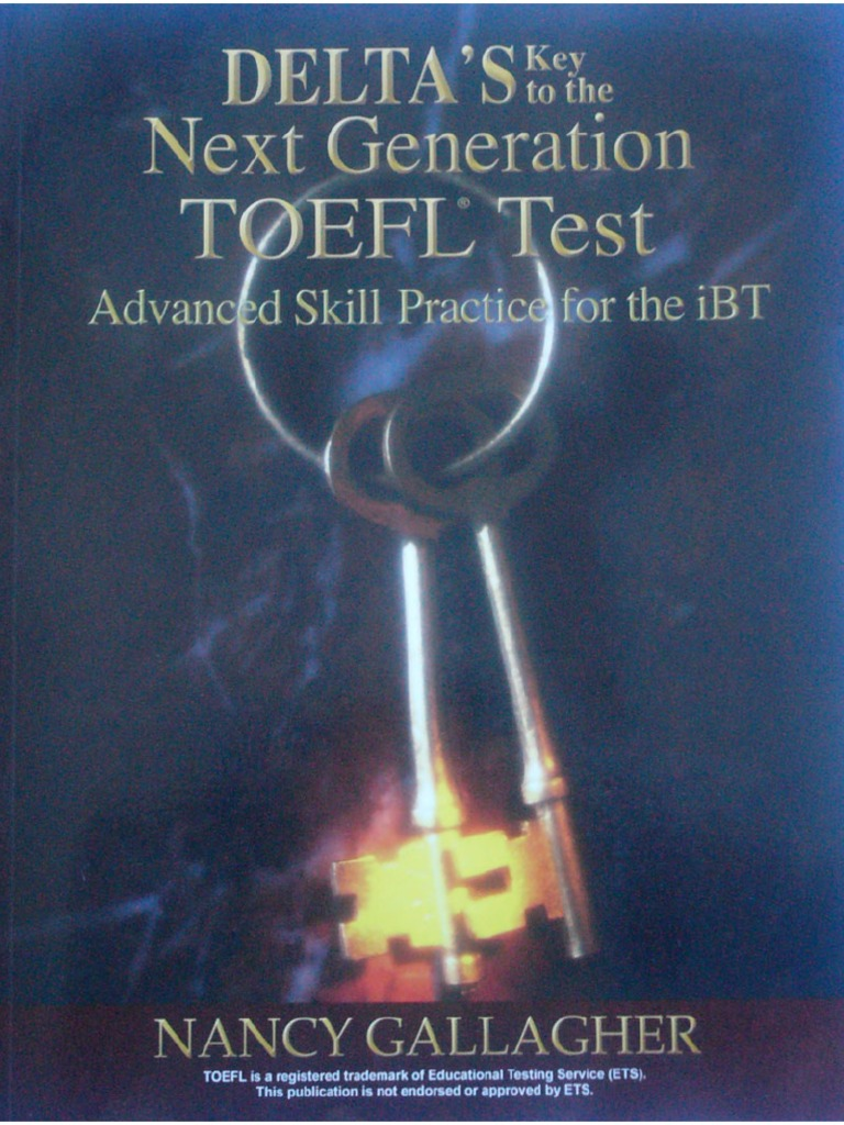 Delta Book For Toefl Ibt