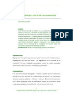 TREJOS - Filosofia de La Educación