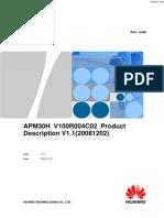 3.1.4 APM30H V100R004C02 Product Description