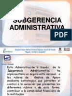 Rendicion de Cuentas 20140314 Subgerencia Administrativa