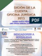 Rendicion de Cuentas 20140314 Oficina Juridica
