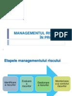 Managementul Riscului in Proiecte