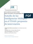 Estudio de Las Inteligencias Multiples en El TDAH