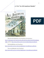 """Addendum # 3 to """"An All-American Murder"""""""