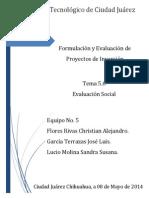 FEPI - Evaluacion Social