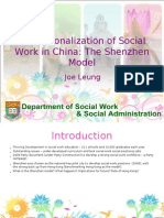 Social Work Professionalization