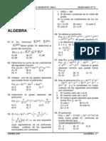 1º Seminario de Algebra Preuniversitario-2006-Isara