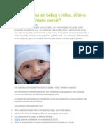 Como Evitar Resfrio en Bebes
