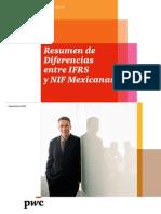 Resumen de Diferencias IFRS NIF PWC