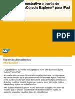 SAP BusinessObjects Explorer Para iPad