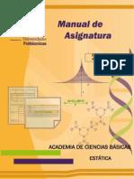 Manual de Asignaturac Basicas-estatica