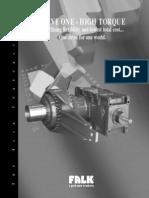 M161-120_Falk Drive One High Torque Gear Drives_Catalog