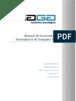 Manual de Uso Del Generador de Formularios Template Saga