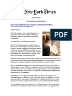 Univfy - The New York Times - 4-28-14