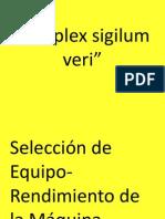 16.Selección de Equipo-Rendimiento de La Máquina. (1)